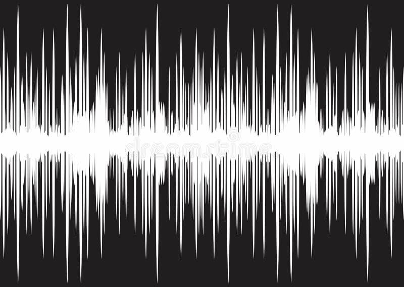 声波 向量例证