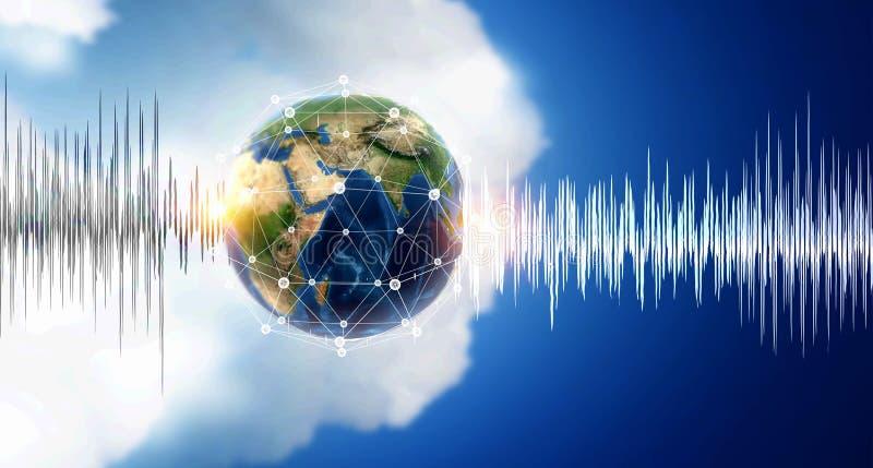 声音技术  免版税库存图片