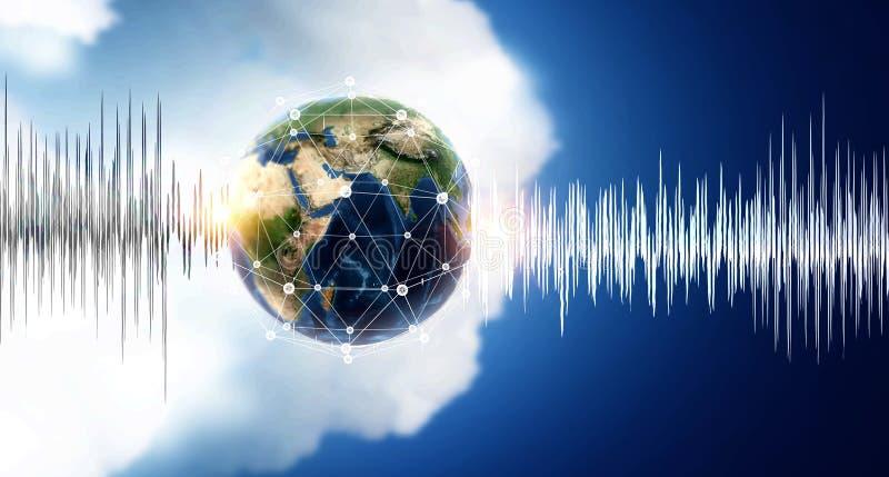 声音技术  库存图片