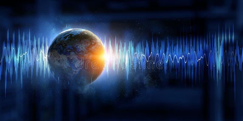 声音现代技术  库存照片