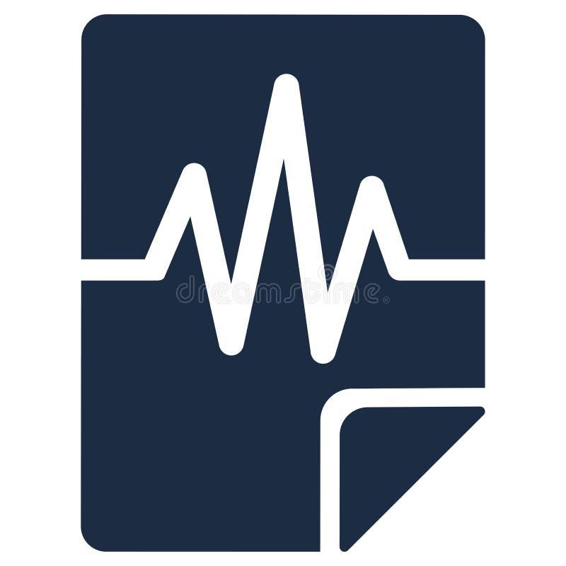 声音认证平的传染媒介象 向量例证