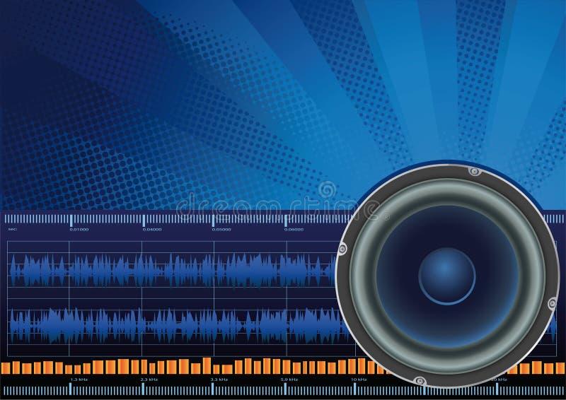 声音 向量例证