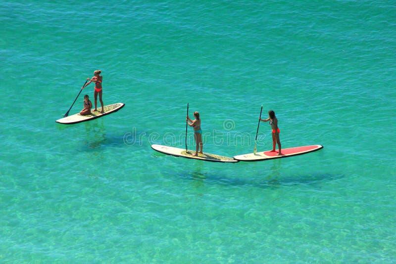 壳海岛,佛罗里达桨房客墨西哥湾 免版税库存图片