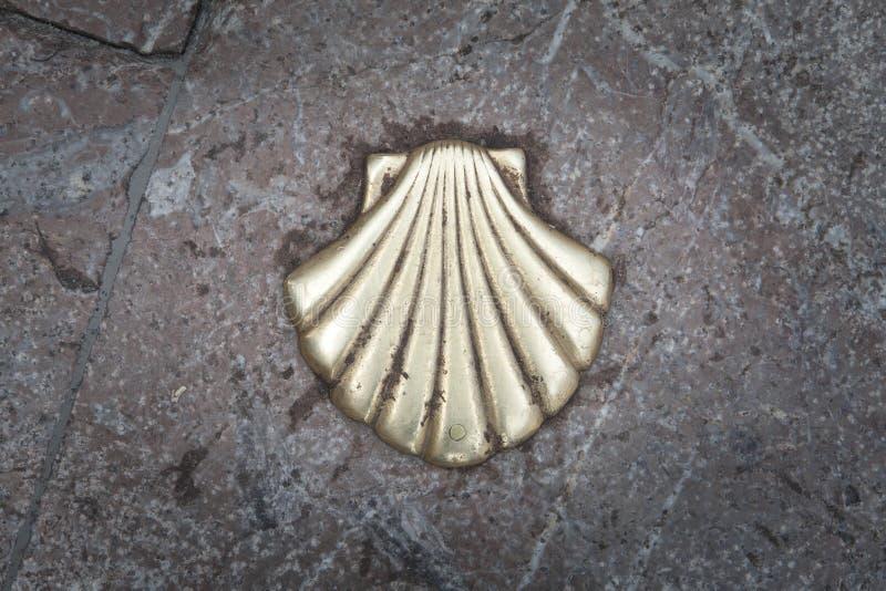 壳用阿斯图里亚斯的方式 库存照片