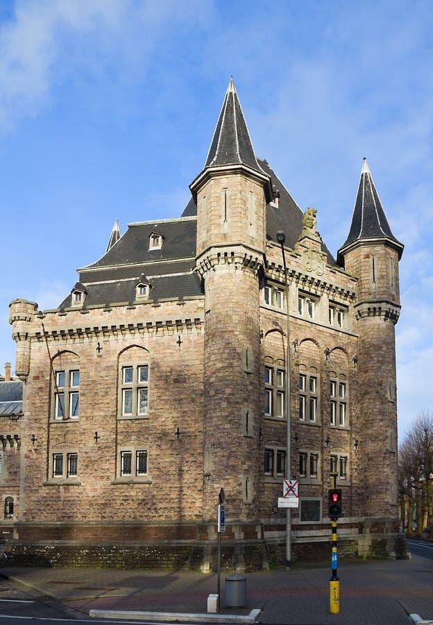 处所Leopoldskazerne 跟特,东弗兰德省,比利时 免版税库存照片