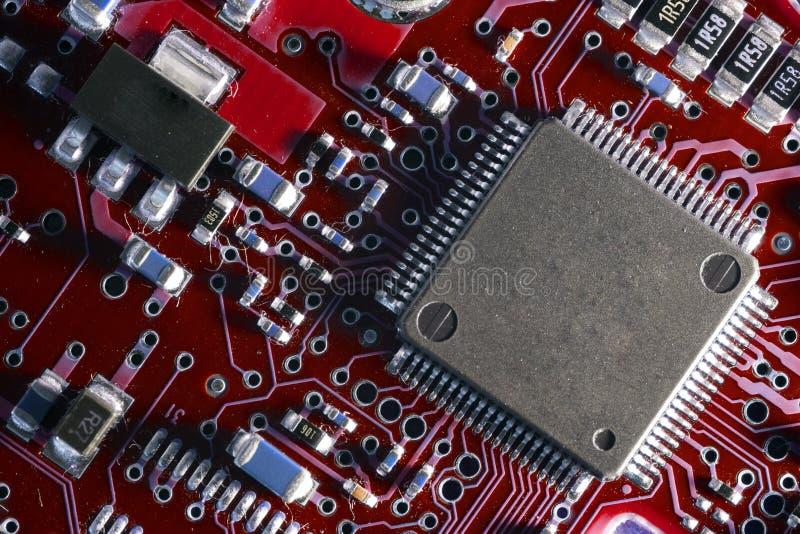 处理器在船上 免版税库存图片