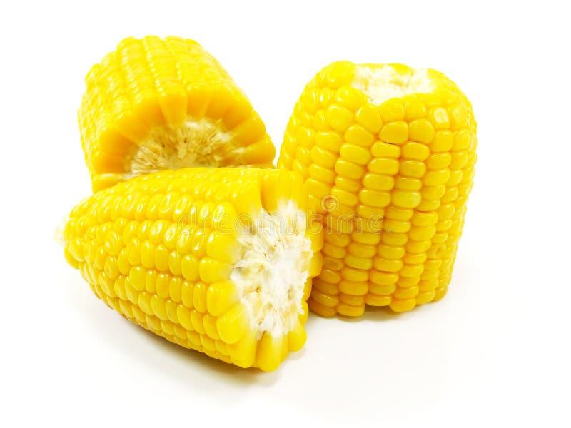 处理甜点的暴力行为的玉米行业 库存图片
