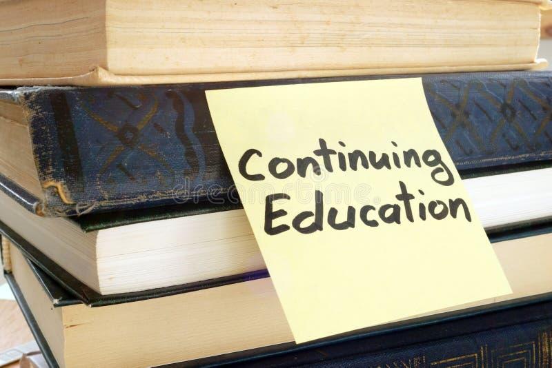 备忘录忠心于词继续教育 免版税库存图片