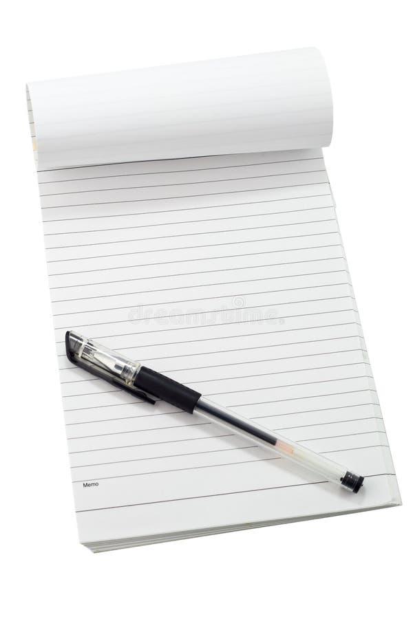 备忘录笔 免版税图库摄影