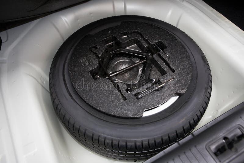 备用轮胎 库存照片