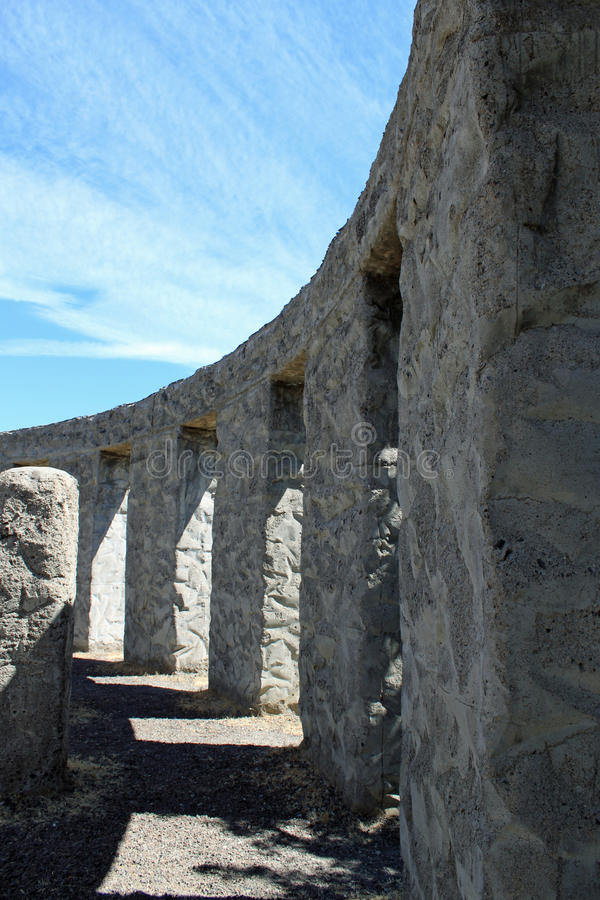 复制品stonehenge 库存照片