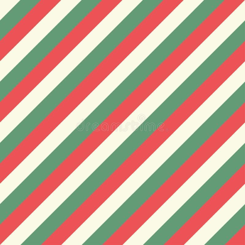 复古圣诞卡背景复古包装纸 皇族释放例证