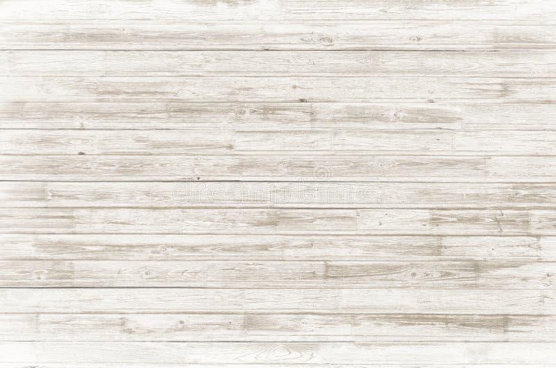 复古的白木背景或纹理 免版税库存照片