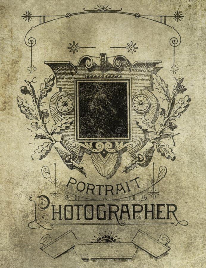 复古羊皮纸背景、摄影 库存例证
