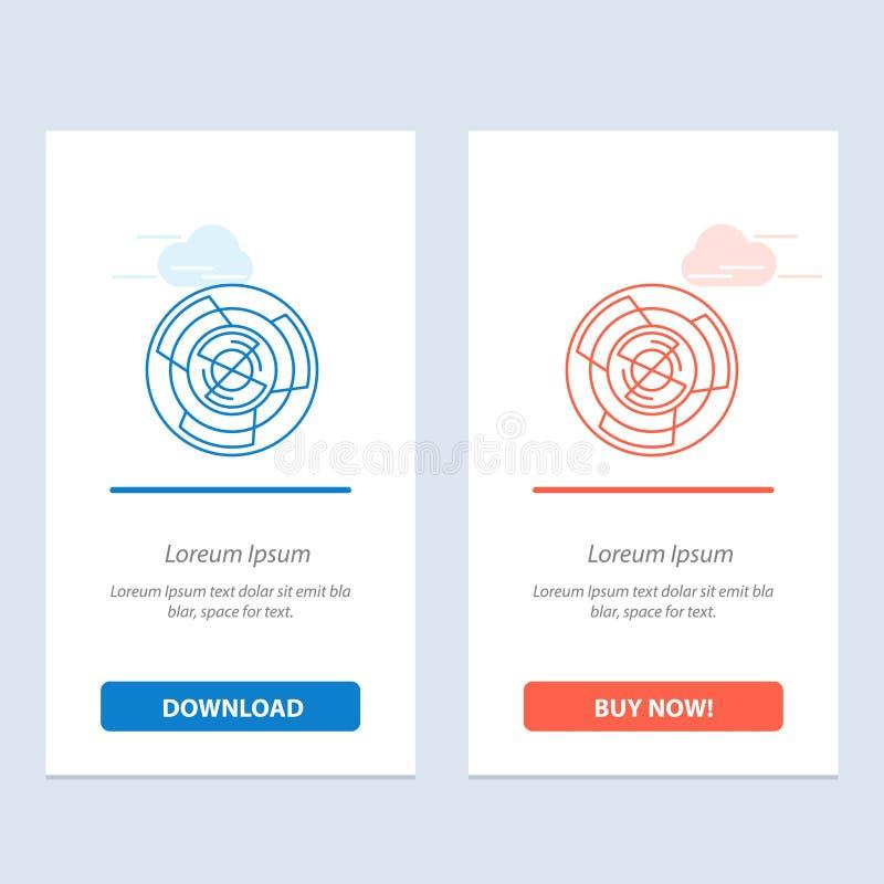 复杂、事务、挑战、概念、迷宫、逻辑、迷宫蓝色和红色下载和现在买网装饰物卡片模板 皇族释放例证