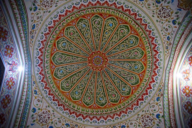 复杂和非对称在维贾伊维拉斯宫殿,普杰 库存图片