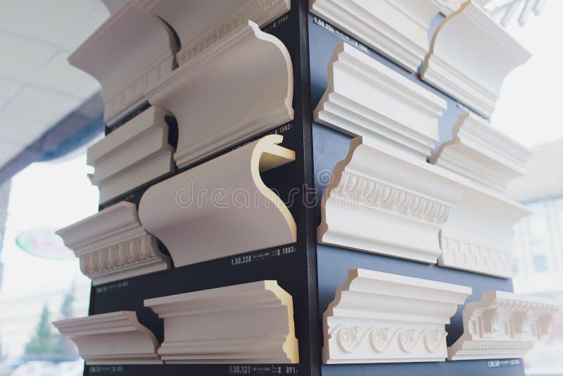 复杂壁角油画外框细节  壁角天花板细节  ?? 库存图片
