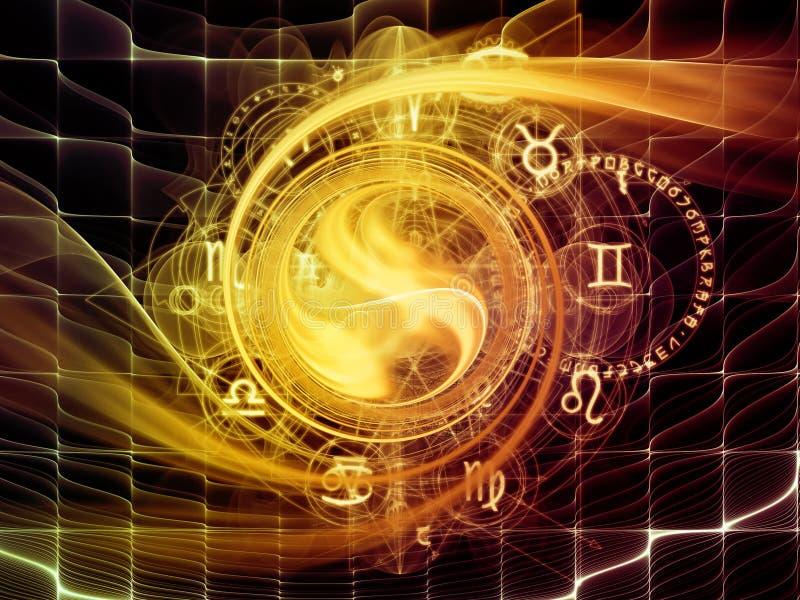 复杂神圣的几何 向量例证