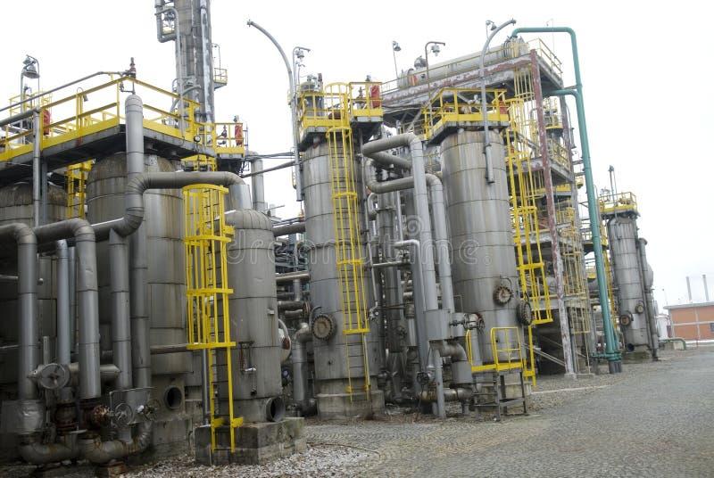 复杂部分精炼厂 免费库存照片