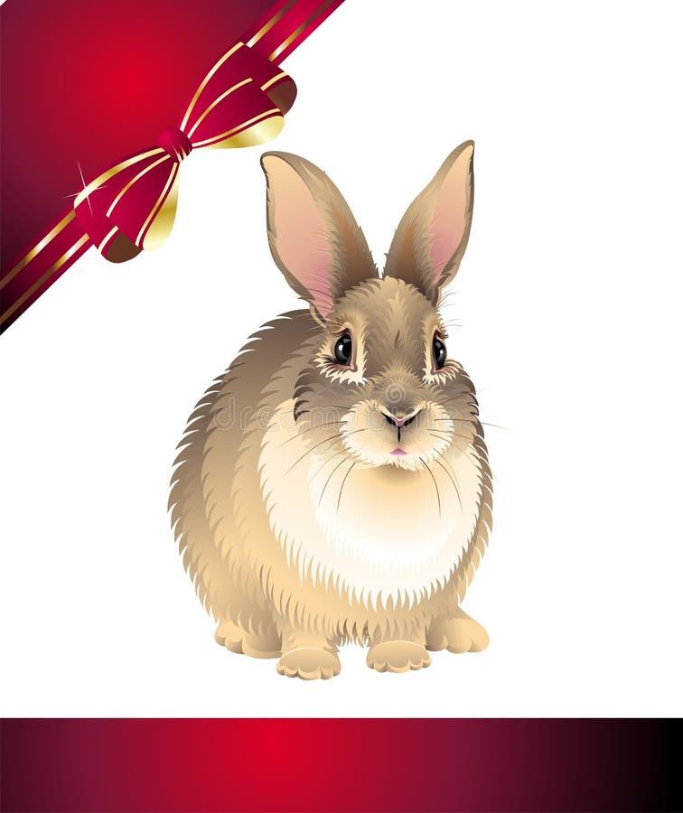 复活节兔子 向量例证