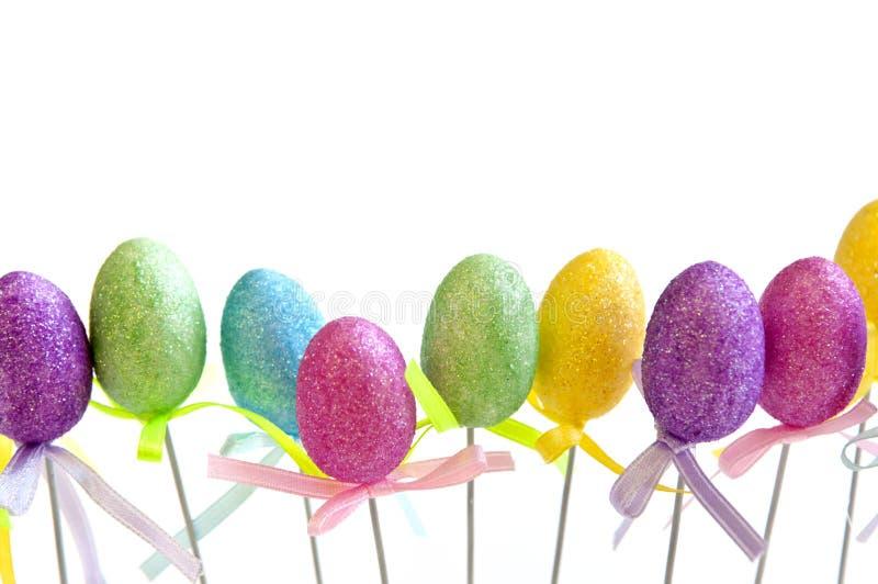 复活节彩蛋玩具 库存照片