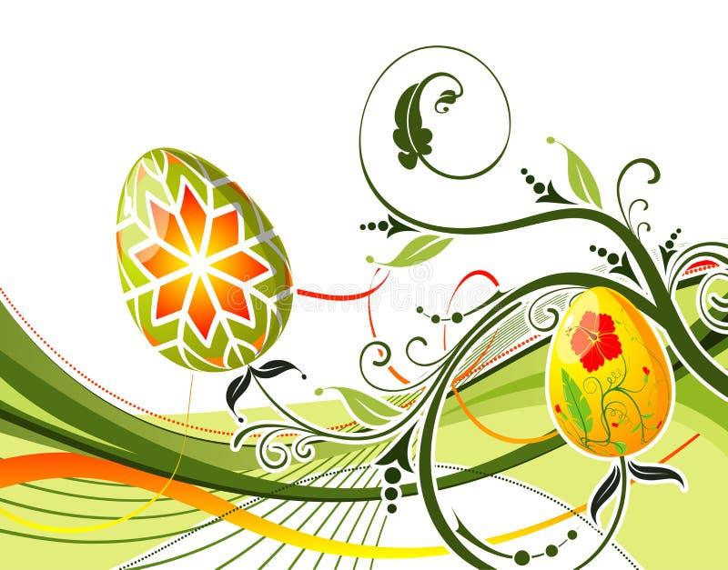 复活节彩蛋 库存例证