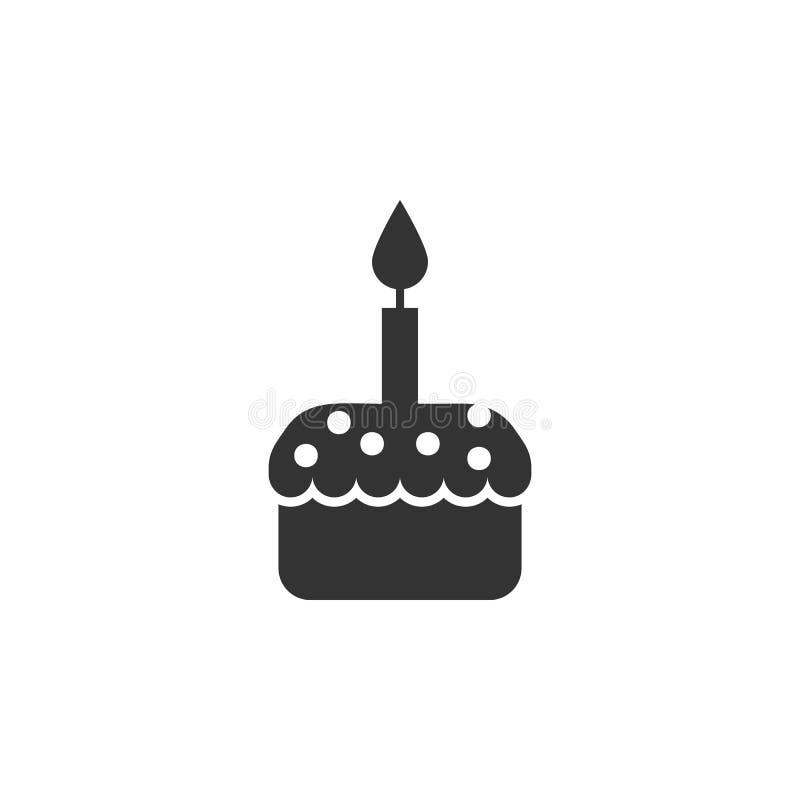 复活节蛋糕,复活节象可以为网,商标,流动应用程序,UI,UX使用 向量例证