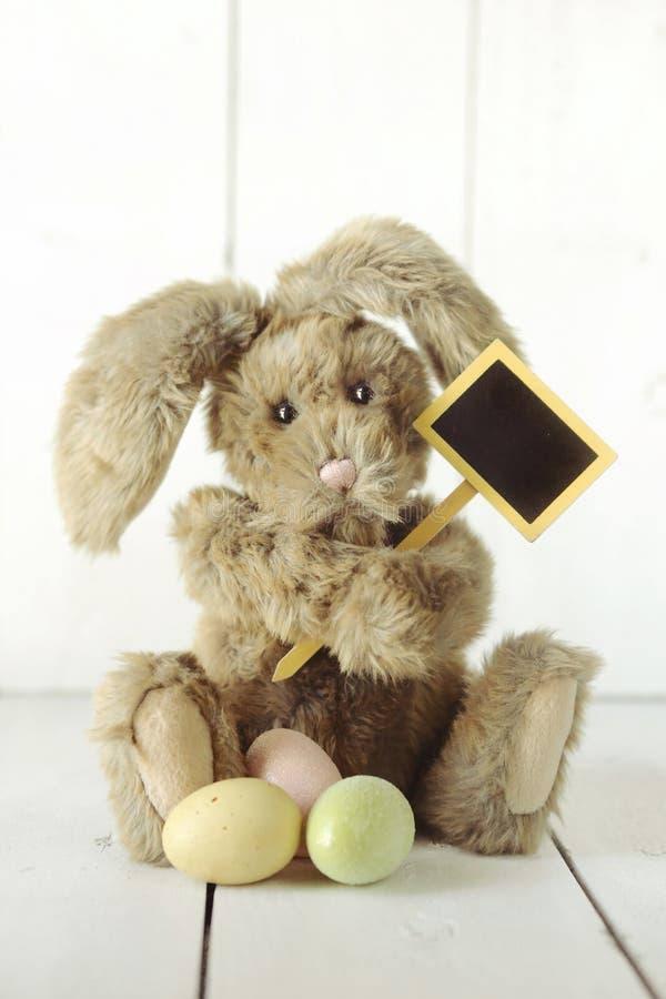 复活节兔子主题的假日场合图象 图库摄影