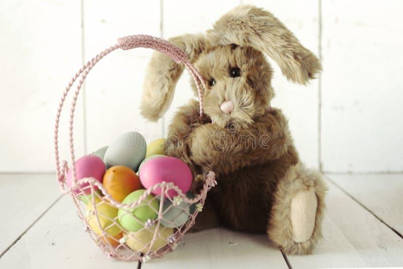 复活节兔子主题的假日场合图象 库存图片