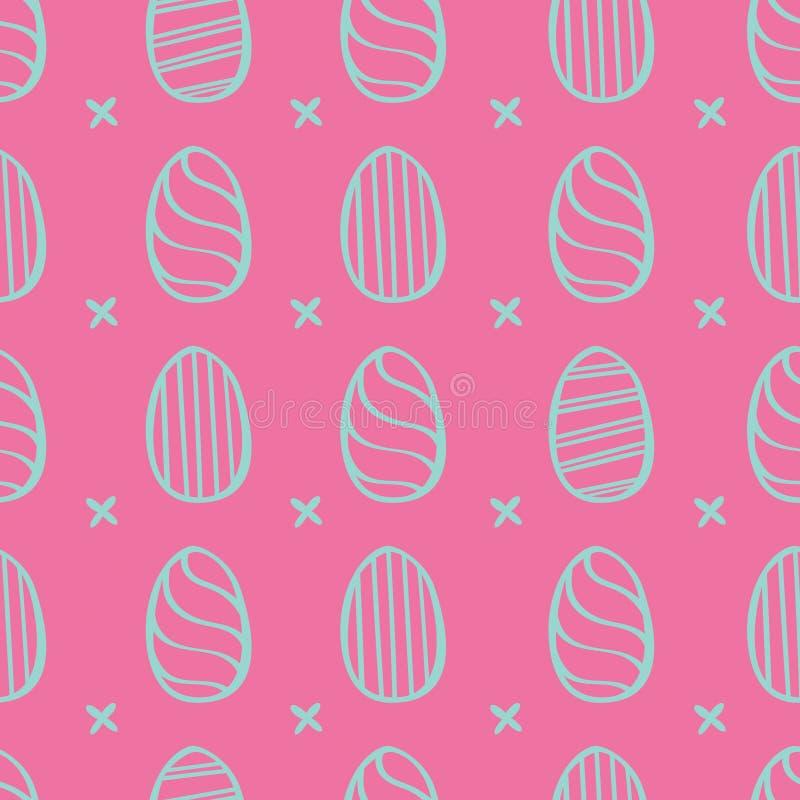 复活节彩蛋样式 库存照片