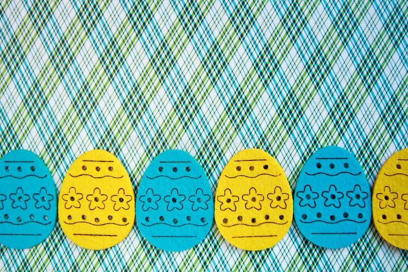 复活节彩蛋横幅 库存照片