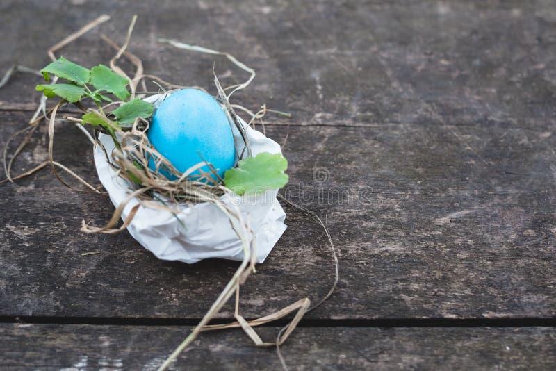 复活节彩蛋照片构成 库存照片