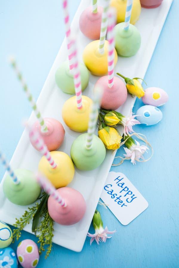 复活节蛋糕流行音乐 库存照片