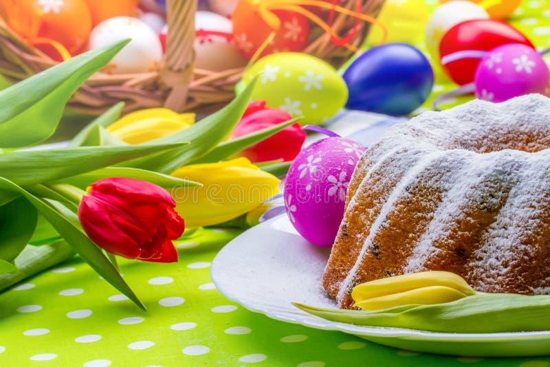复活节蛋糕 图库摄影