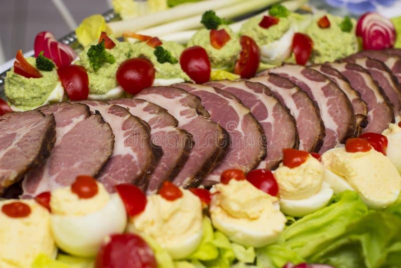 复活节食物 图库摄影