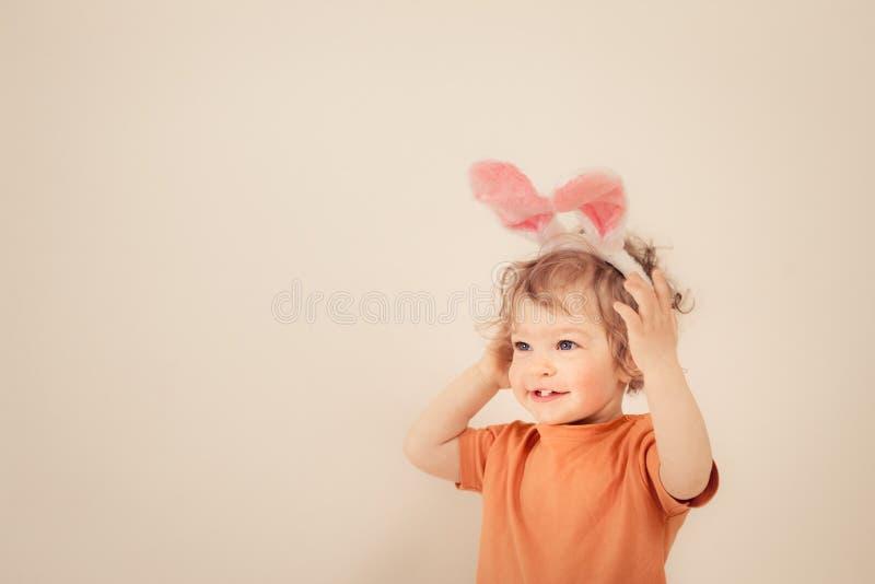 复活节婴孩兔宝宝 库存图片