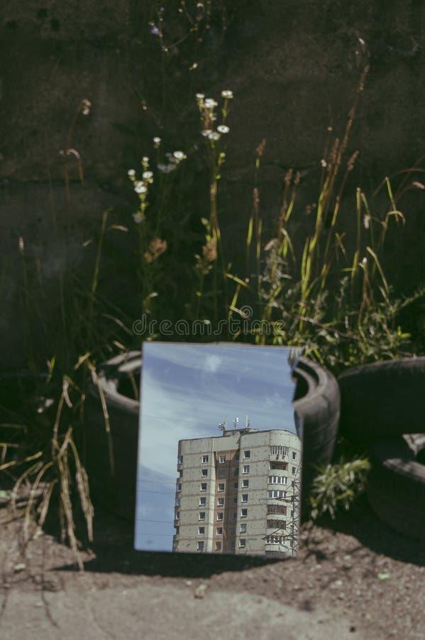 夏天在城市 库存图片