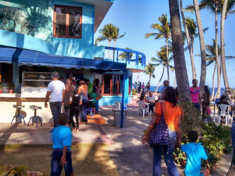 夏天在多米尼加共和国 免版税图库摄影