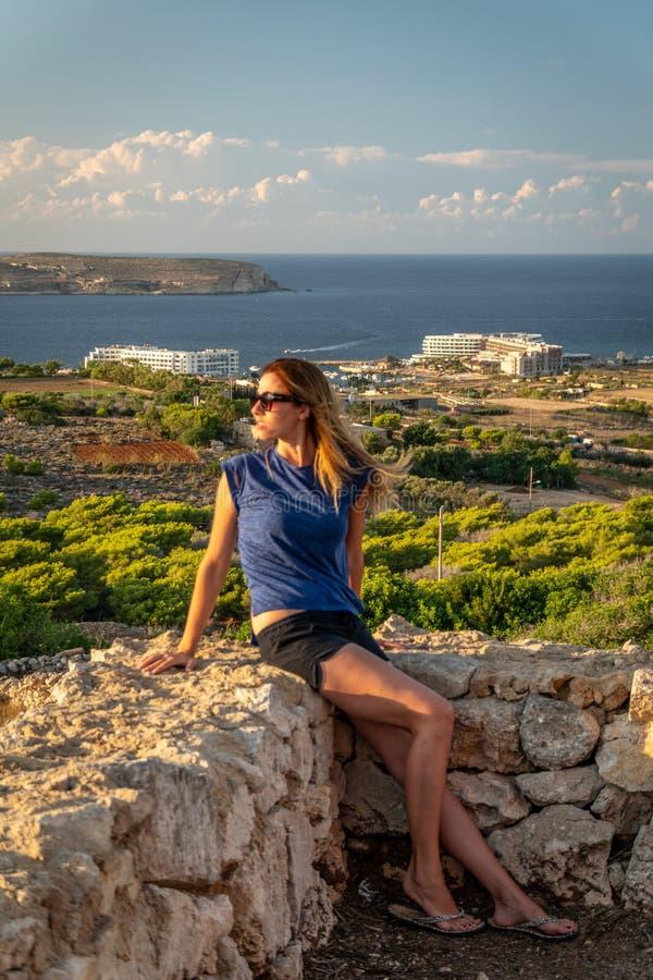夏天在马耳他 免版税图库摄影