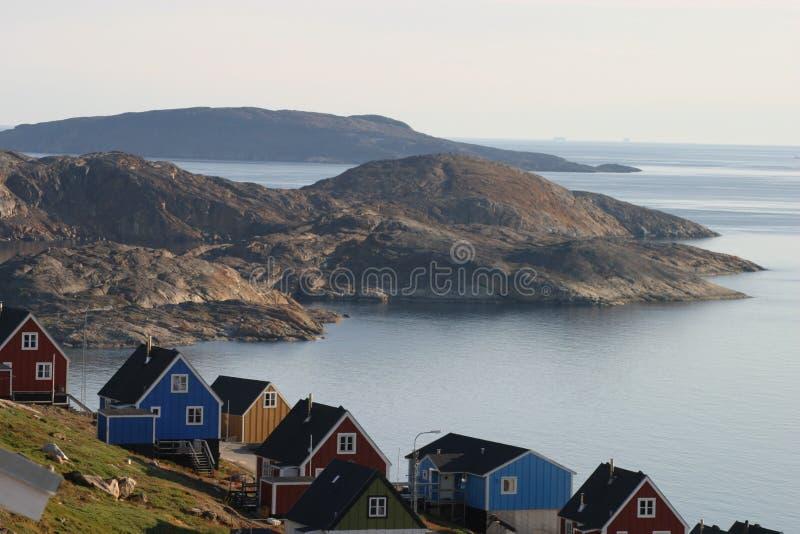 夏天大气格陵兰 免版税库存照片