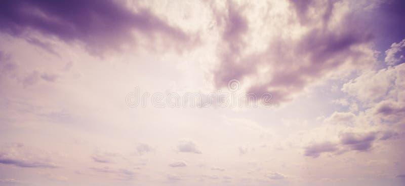 夏天天空云彩 免版税图库摄影