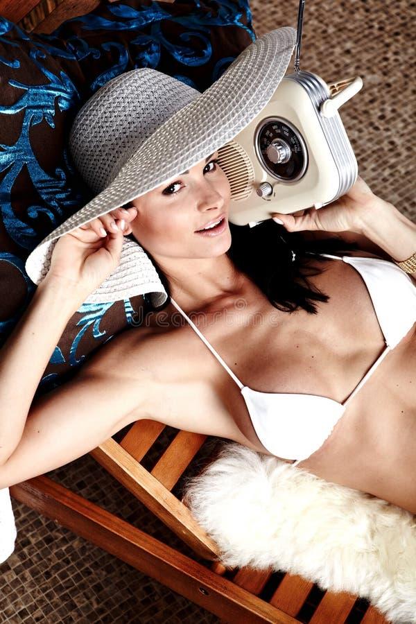 夏天妇女 免版税库存图片