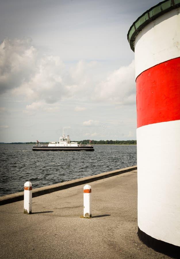 夏天感觉在丹麦 免版税库存照片