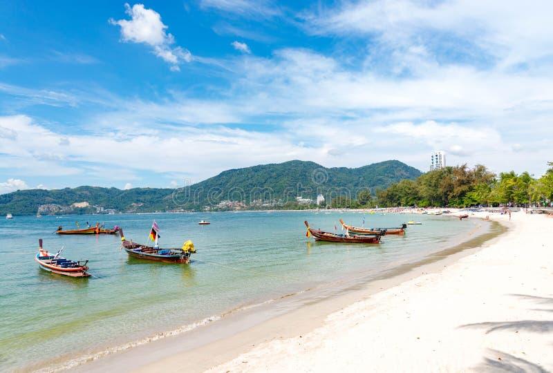 夏天概念,普吉岛,泰国- 1月20,2018 :五颜六色s 库存照片