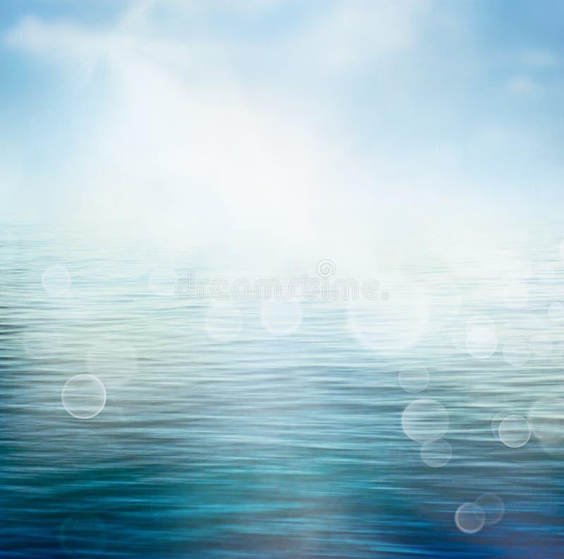 夏天海洋 图库摄影