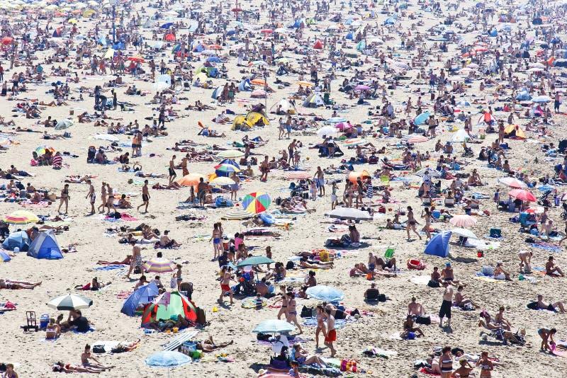 夏天海滩 免版税库存图片