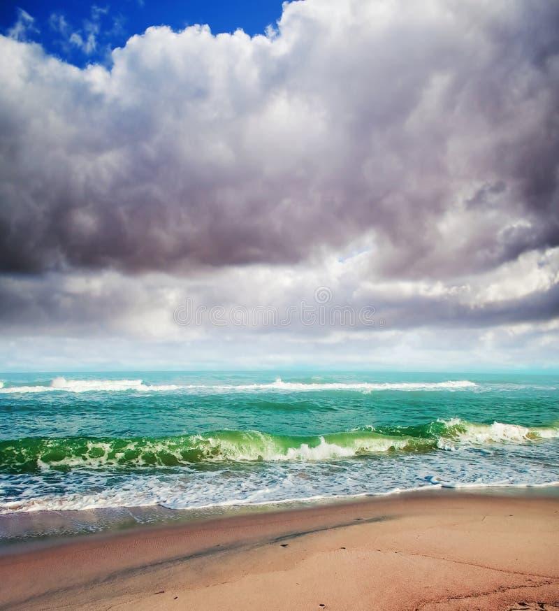 夏天海运背景 图库摄影