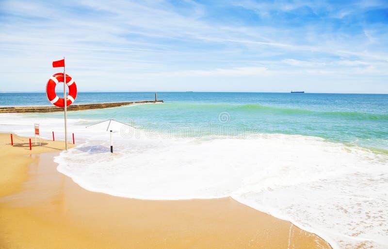夏天海滩照片 免版税库存照片