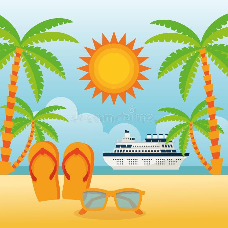 Download 夏天设计 假日象 五颜六色的例证,传染媒介 向量例证. 插画 包括有 放松, 目的地, 晒裂, 生活方式 - 72371339