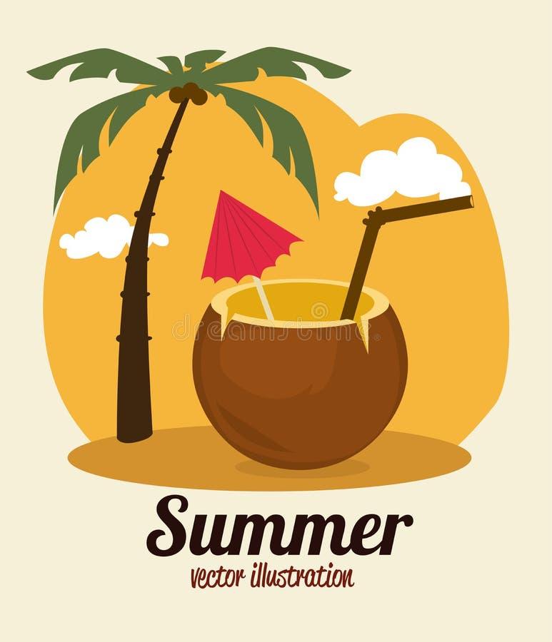 夏天设计 向量例证
